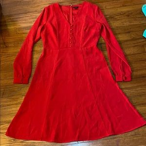 ✨3/$15 Ann Taylor Red Dress